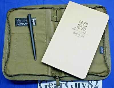 Rite In The Rain 980T Kit All Weather 5X7 Notebook/Pen And Carrying Case - Tan