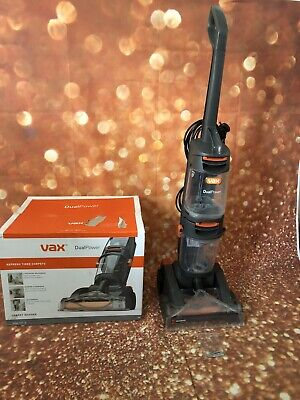 Vax W86-DP-B Dual Power Upright Carpet Cleaner Washer Used