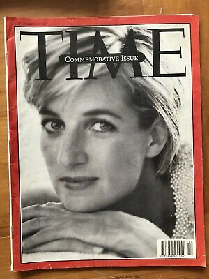 Rare TIME Magazine 1997, Royal Princess Diana 61-97,Vintage,Commemorative, Royal