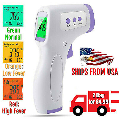 Forehead thermometer infrared digital non-contact human body temperature IR