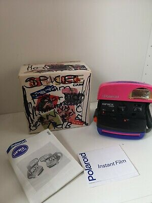 Polaroid Spice Cam Classic Instant Camera  with box - Spice Girls Collectable