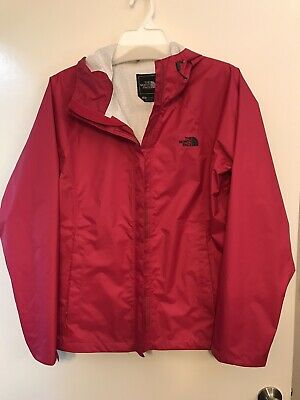 The North Face Womens Rain Coat L