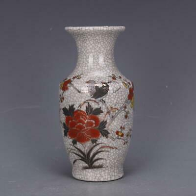 Qianlong Years Collectable China Famille-rose Porcelain Hand Painted Unique Vase