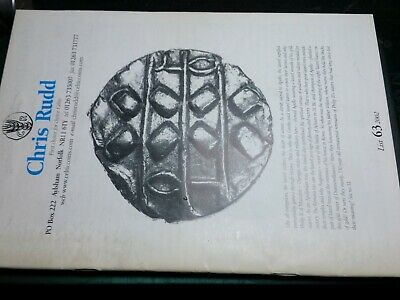 Celtic Coins Chris Rudd Collectors issue List 63