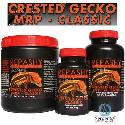 Repashy Crested Gecko MRP Classic   Meal Replacement Powder   85g And 170g Pots