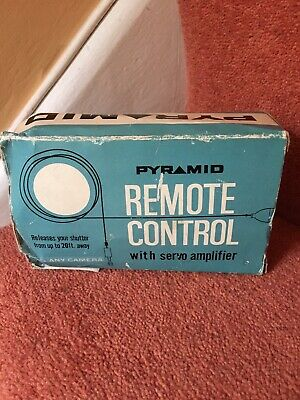 Pyramid Remote Control With Servo Amplifier. Fits Any Camera. 20ft Range.