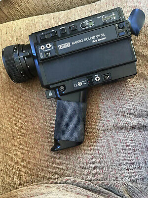 Eumig Makro Sound 65 XL Super 8 Cine / Movie Camera - Cased Bundle Fully Working