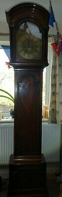 Bowly Devereux Grandfather Clock. Bowley. 1700s