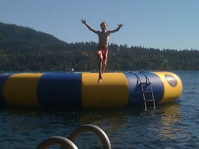 Used Rave Water Trampoline 25 Foot Mat Replacement
