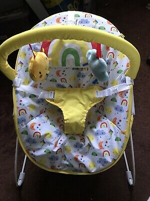 Baby bouncing chair by Mothercare