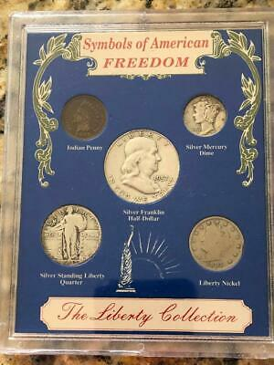 Symbols of American Freedom The Liberty Collection Silver Coin Set 1993  D6
