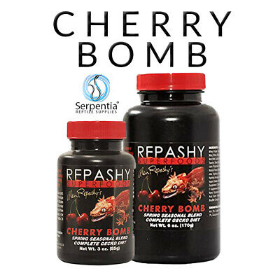 Repashy Superfoods Cherry Bomb Complete Crested Gecko Diet | 85g And 170g Pots