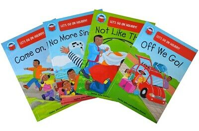 Start Reading Collection - Let's Go on Holiday (4-5 years) [4 book set]