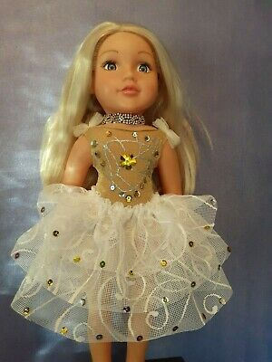 American Girl Our Generation Golden Angle  Ballet Tutu 18 Inch Doll Clothes