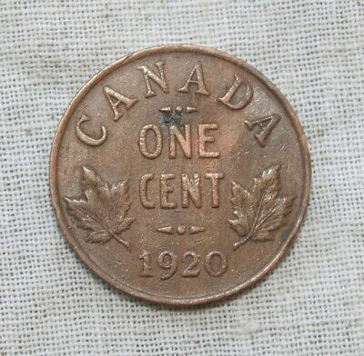 1920 One Cent Canada Coin.  **FREE Shipping**