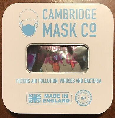 Cambridge Face Mask N 99 Military Grade Filters Sherlock Extra Small (1)