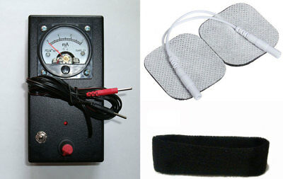 from 0.1 to 3mA -TDCS - Transcranial Direct Current Stimulation - DIY
