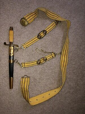 Russian Naval dagger Bulat 1992 numbered with belt and hangers.