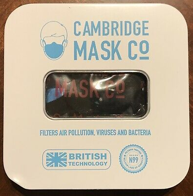 Cambridge Face Mask N 99 Military Grade Filters Sherlock Extra Small (17)