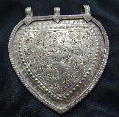 Antique Silver Jempang Caping Modesty Plate Sulawesi (#2)