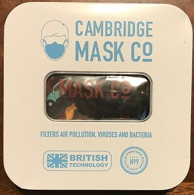 Cambridge Face Mask N 99 Military Grade Filters Sherlock Extra Small (5)