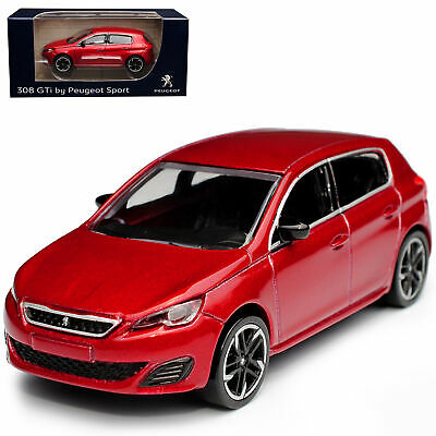 Peugeot 308 GTI Weiss 5 Türer AB 2013 2 Generation 1//43 Norev Modell Auto mit o