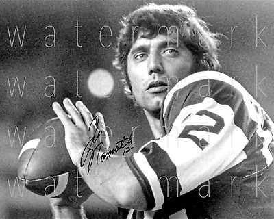 Joe Namath New York Jets signed photo 8X10 poster picture autograph RP