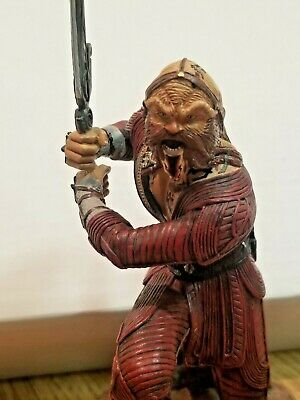 """Toy Vault Farscape Ka D'argo Luxan Warrior Cold Cast statue 8"""" complete with box"""