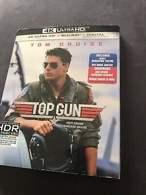 Top Gun 4K + Blu Ray + Digital New And Sealed