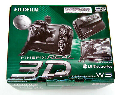 FujiFilm Finepix REAL 3D W3 Camera NEW Fuji Digital camera factory sealed in bag