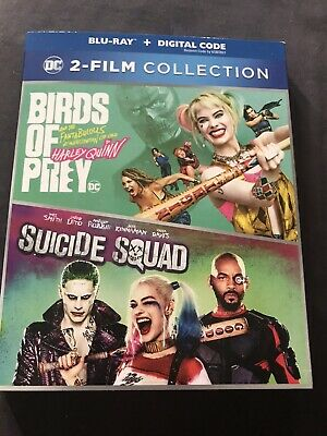 DC 2 Movie Collection Birds Of Prey And Suicide Squade Blu Ray Digital Sealed