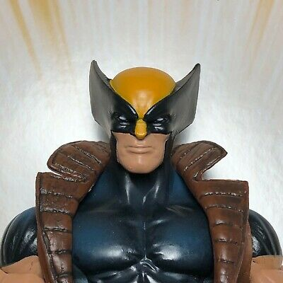 Marvel Legends Custom #6 WOLVERINE VER.2 Head ONLY parts Cast unpainted!