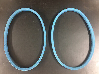 Set of 2 PREMIUM PTO Belts For Kubota G1700 G1800 G1800S G1900 G2000