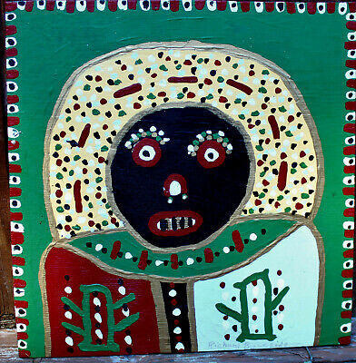 Richard Burnside 'ANCIENT ANCESTOR ' Painting folk art outsider