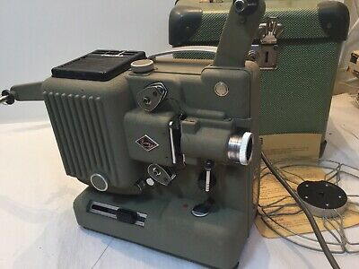 Eumig P8 Original Cine Movie Projector With Case And Reel