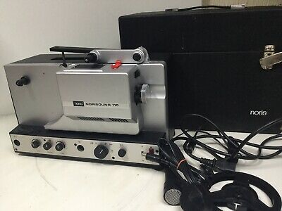 Vintage Noris Norisound 110 Sound Movie Cine Film Projector