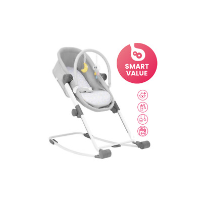 Brand new in box Badabulle compact Rest and Go 4 in 1 crib & bouncer from birth
