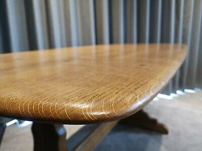 Mid-century Ercol dining table
