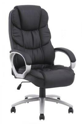 BestOffice High Back Leather Computer Chair - White