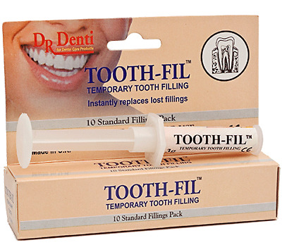 Dr Denti TOOTH-FIL ™- Temporary Tooth Filling - Made in the UK