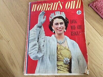 vintage womans ow magazine June 4th 1953 makes fabulous reading some lovely pics