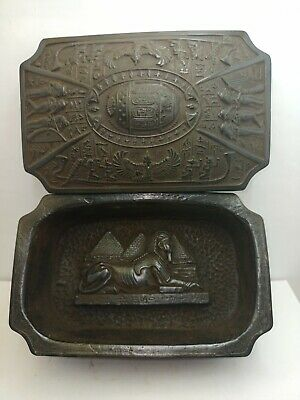 RARE ANCIENT EGYPTIAN ANTIQUE BOX With Scarab 1685-1234 BC