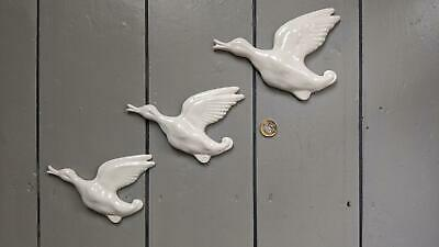 New Retro - Set of 3 Flying Goose Geese Duck decoration wall gift present ducks