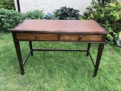 Gordon Russell Two Drawer Desk Table 1956 Manufactured For The War Department