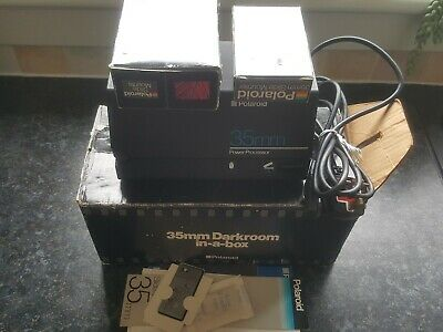 Boxed Polaroid 35mm Power Processor DarkRoom In a Box Complete minus Film
