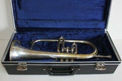 Gaillard & Loiselet Flugel Horn in Bb with case and Original Mouthpiece