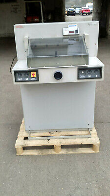 Ideal guillotine 5221  very very quiet paper cutter