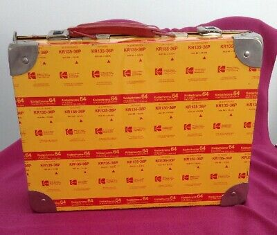 Kodachrome 64 - Metal Carry Case - Collectors Item - Used But Good Condition