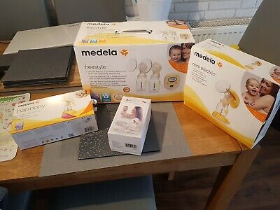 Medela Freestyle double electric breast pump, inc harmony and mini electric.