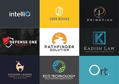 Professional Custom Logo Design - Fast 48 Hours Delivery - Unlimited Revisions